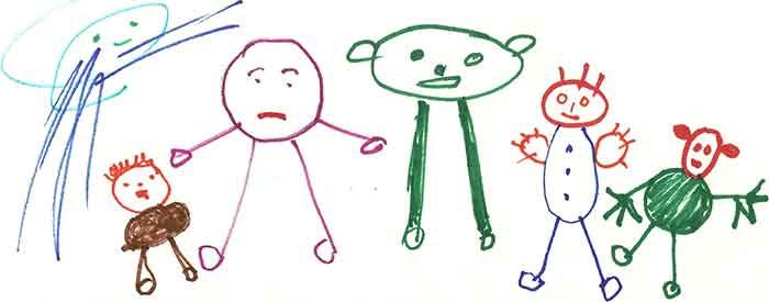First Representational Drawings